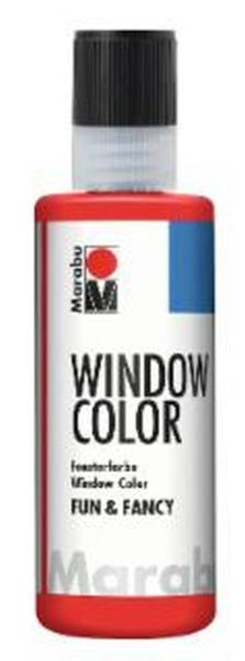 Window Color fun&fancy, Kirschrot 031, 80 ml