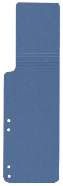 Aktenschwänze blau, 100 Stück