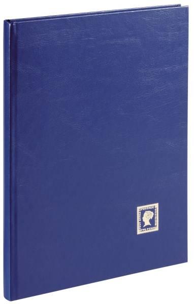 PAGNA Briefmarkenalbum A4 16 S blau 30124-07