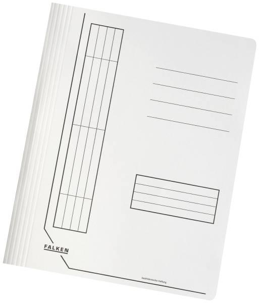 Schnellhefter, Manila RC Karton, 240g, DIN A4, intensiv weiß