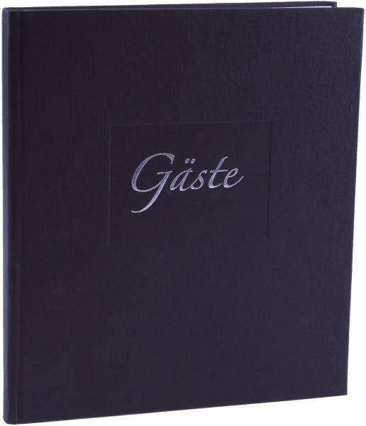 Gästebuch schwarz