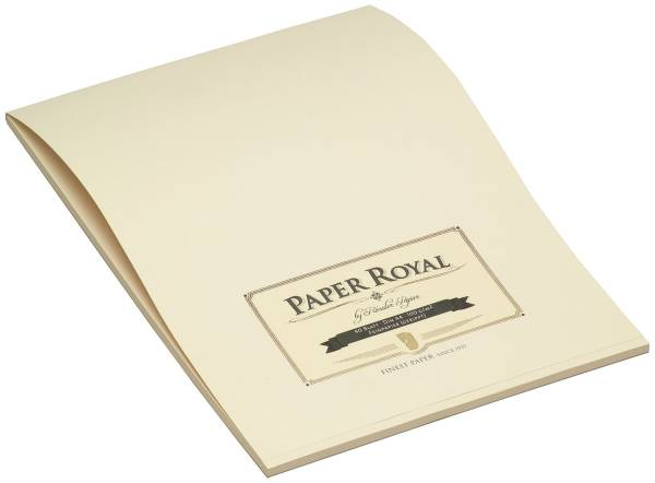 RÖSSLER Briefblock PAPER ROYAL A4 chamois 2002831008