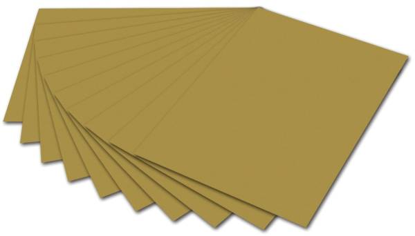 Tonpapier A4, gold
