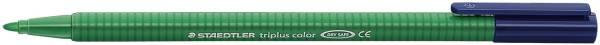 STAEDTLER Faserschreiber Triplus grün 323-5