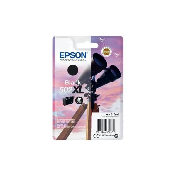 EPSON Inkjetpatrone Nr.502XL schwarz C13T02W14010