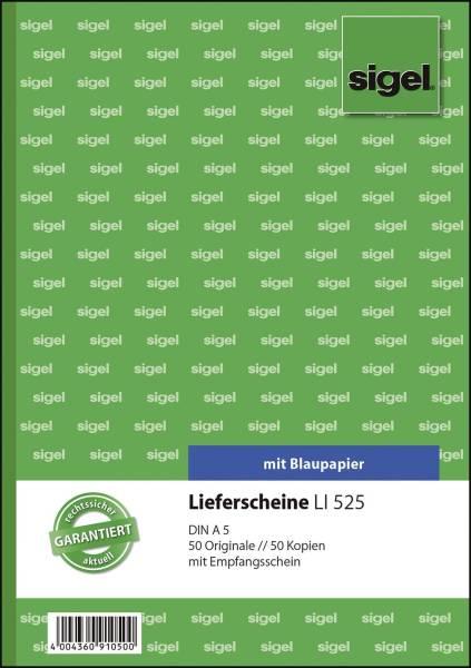 SIGEL Lieferscheinbuch A5/2fach Li525