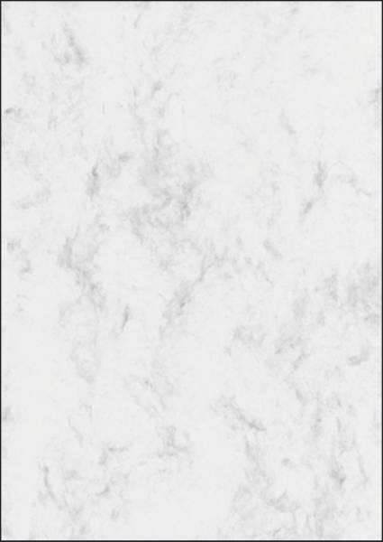 Marmor Papier, grau, A4, 90 g qm, 100 Blatt