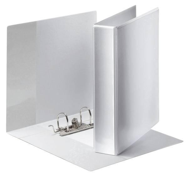 Ordner Panorama, Papier, A4, schmal, weiß