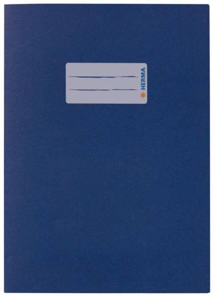 Heftschoner A5 Papier dunkelblau