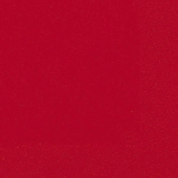 DUNI Serviette Zelltuch bril.rot 104062/ 3lagig. 33 cm
