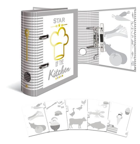 HERMA Kochrezeptordner A5 15416 Star Of The Kitchen