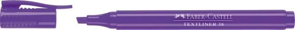 Textmarker 38 Stiftform violett