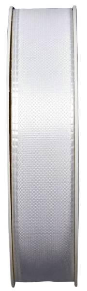 GOLDINA Basic Taftband 25mmx50m weiss 8445025010050