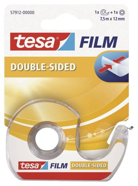 TESA Doppelklebefilm 7,5m 12mm transparent 57912-00000-02 m.Abroller