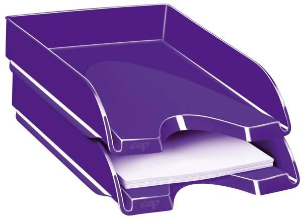 "Briefkorb ""ProGloss"" A4 C4, violett"