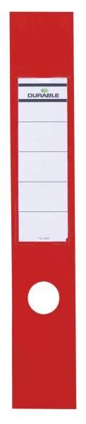 Rückenschild 60mm rot