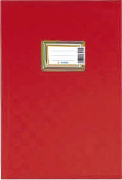 7442 Heftschoner PP A4 gedeckt rot