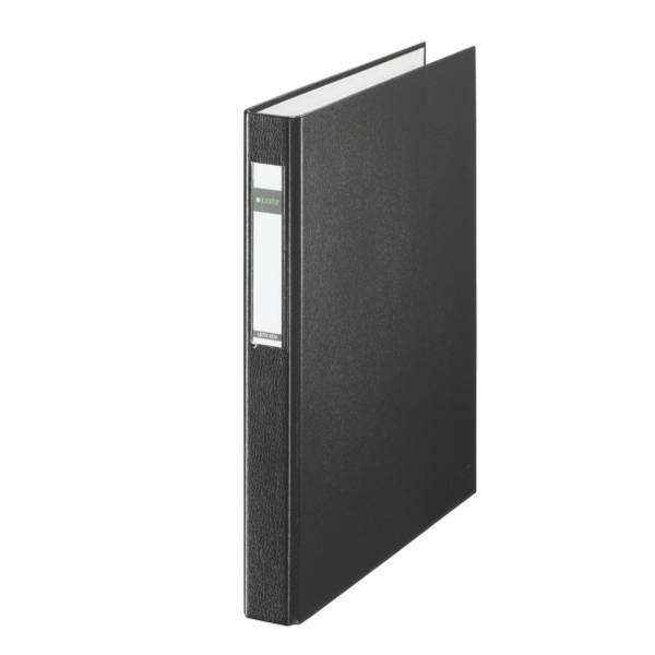 LEITZ Ringbuch Maxi A4 schwarz 42120095 25mm 4Ringe