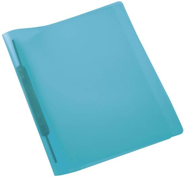 Spiralschnellhefter A4, transluzent, hellblau