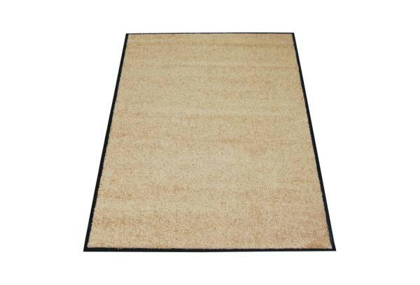 Eazycare Schmutzfangmatte für Innen, 120 x 180 cm, beige, waschbar