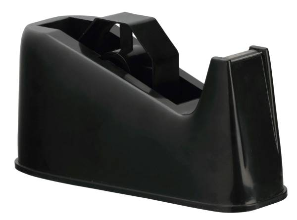 Tischabroller für Rollen bis 25 mm x 66 m, schwarz