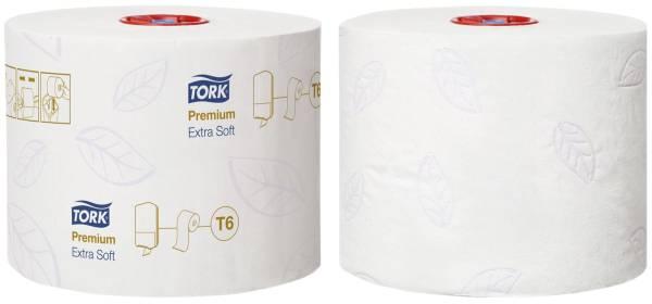 Toilettenpapier Midi für T6 System extra weich, 3 lagig, 27 Rollen á 70 m