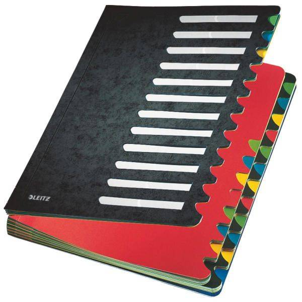 5914 Deskorganizer Color 1 24 24 Fächer, Karton, schwarz