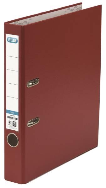 Ordner smart Pro (PP Papier) A4, 50 mm, bordeaux