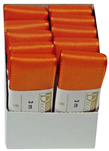 GOLDINA Basic Taftband 40mmx3m orange 1445040401003