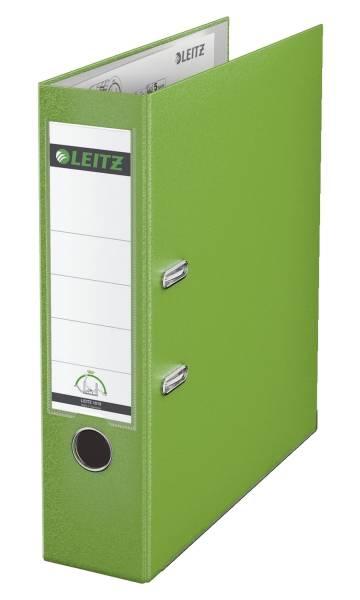 LEITZ Ordner Plastik A4 8cm hellgrün 1010-50-50 180° Mechanik