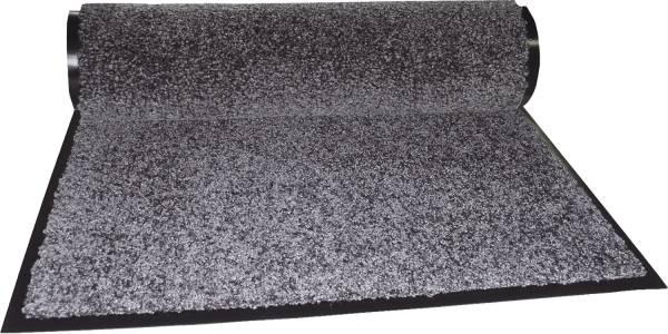 Eazycare Schmutzfangmatte für Innen, 60 x 90 cm, grau, waschbar