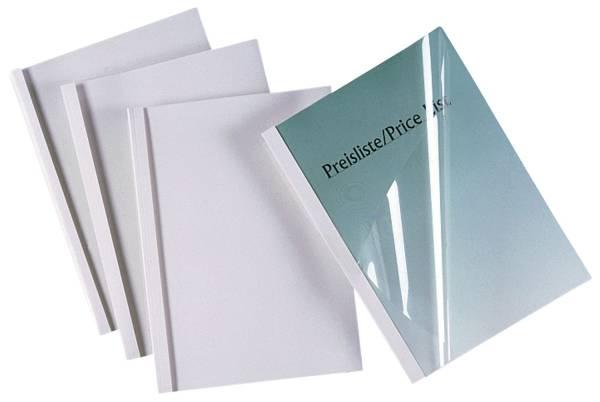Thermomappe A4, 4 mm 40 Blatt, weiß, 100 Stück