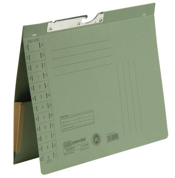 ELBA Pendelhefter 320g grün 100570020