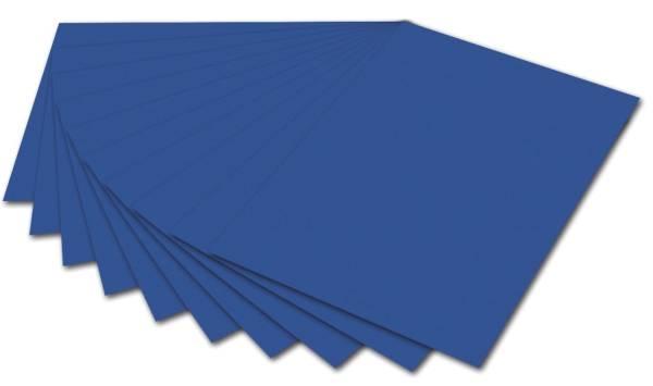 Fotokarton A4, blau