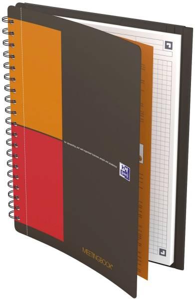 OXFORD Collegeblock B5 80BL kariert 400080788 Meetingbook Connect