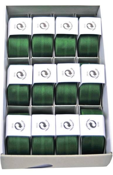 Susifix Satinaband 25 mm x 3 m, dunkelgrün