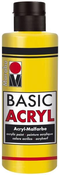 MARABU Basic Acryl gelb 12000 004 019 80ml