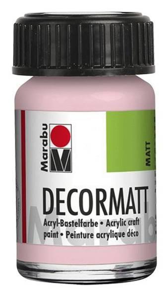 MARABU Decormatt Acryl wildrose 1401 39 231 15ml Glas