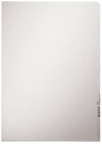 4020 Standard Sichthülle A4 PP Hartfolie, glasklar, 0,16 mm