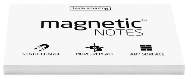 Haftnotizblock statisch 100 x 70 mm, weiß, 100 Blatt