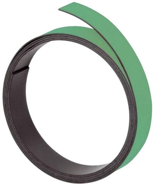 Magnetband 100 cm x 15 mm, grün