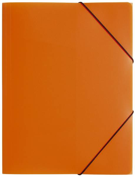 PAGNA Gummizugmappe PP A4 orange 21613-09 Lucy Colours