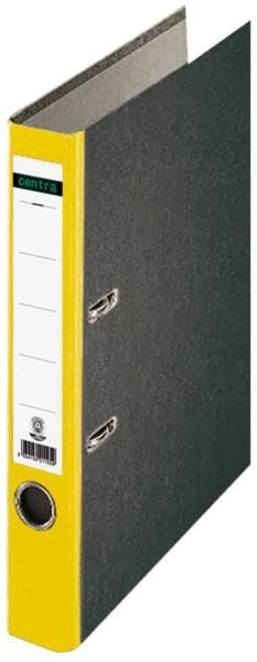 Standard Ordner A4, 52 mm, gelb