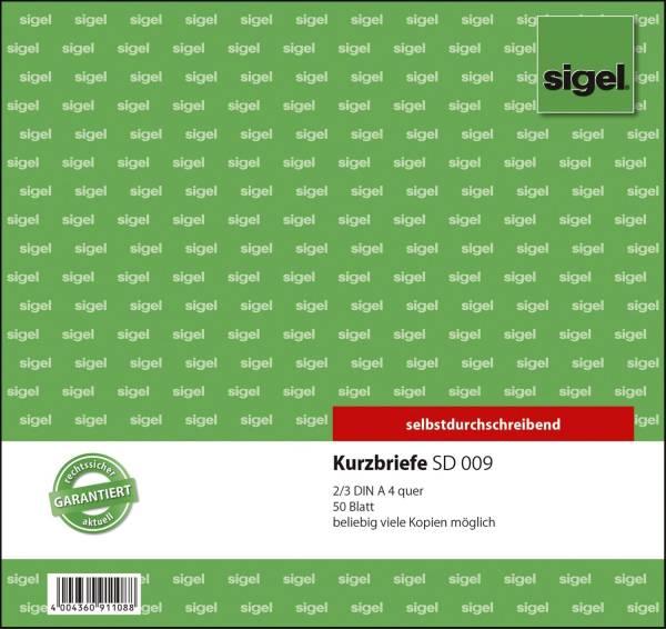 Kurzbriefe CFB 2 3 A4, SD, 50 Blatt