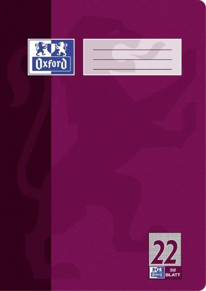 Heft A4 32 Blatt Lineatur 22