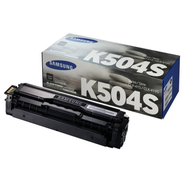HP Lasertoner CLT-K504S schwarz SU158A