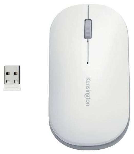 KENSINGTON Maus Wireless weiß/silber K75353WW SureTrack