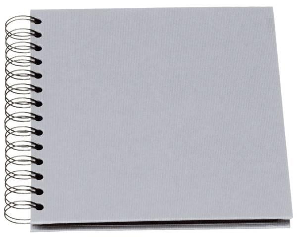 RÖSSLER Fotospiralbuch SOHO 18x18cm stone 1329452175 60Seiten