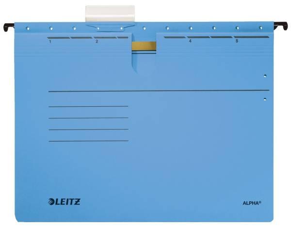LEITZ Hängehefter Alpha blau 1984-00-35 Karton 250g