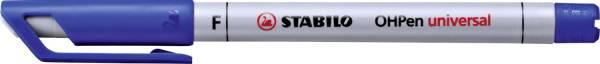 STABILO Folienschreiber OHPen F blau 852/41 wasserlöslich